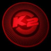 Внешняя подсветка дверей с логотипом Kia K2 Rio 5W
