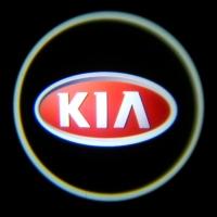 Внешняя подсветка дверей с логотипом KIA 5W
