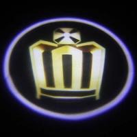 Беспроводная подсветка дверей с логотипом Crown