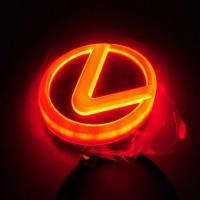 4D светящаяся эмблема для авто lexus синий, красный, белый, зелёный, жёлтый  (Лексус в 4D).   Светящаяся 4D светодиодная эмблема lexus, это что-то не вероятное. Хочешь блеснуть среди владельцев марки Лексус, это для вас. Оригинальный, цельный корпусом c п