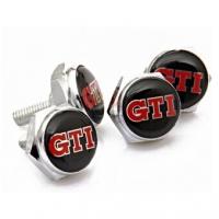 Декоративный болт для номерного знака с логотипом GTI