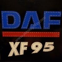 Светящийся логотип для грузовика DAF XF75