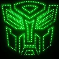 Светящийся логотип для грузовика Autobot
