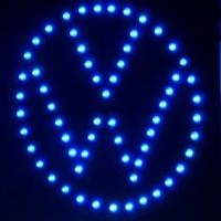 Светящийся логотип VW Volkswаgen