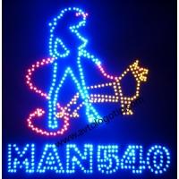 Светящийся логотип для грузовика MAN 540