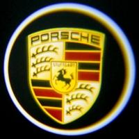 Штатная подсветка дверей PORSCHE 7W