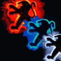 Подсветка логотипа PEUGEOT 207