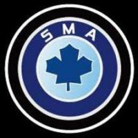 Внешняя подсветка дверей с логотипом SMA 7W