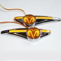 Светодиодный поворотник с логотипом DODGE