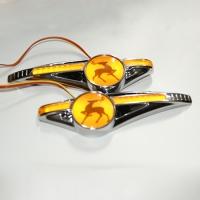 Светодиодные поворотники с логотипом GAZ