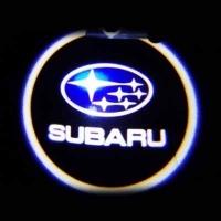 Штатная подсветка дверей SUBARU 7W