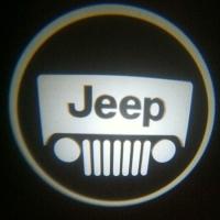 Внешняя подсветка дверей с логотипом Jeep 5W
