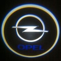 Внешняя подсветка дверей с логотипом Opel 7W