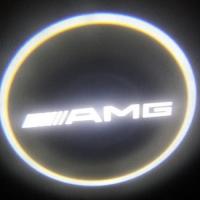 Внешняя подсветка дверей с логотипом AMG 7W