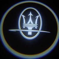 Внешняя подсветка дверей с логотипом Maseratti 7W