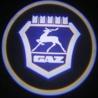 Беспроводная подсветка дверей с логотипом ГАЗ 5W