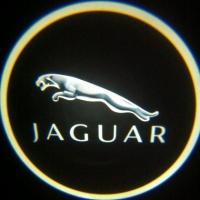 Беспроводная подсветка дверей с логотипом Jaguar