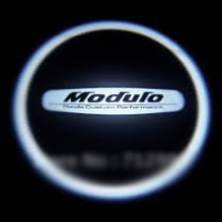 Внешняя подсветка дверей с логотипом Modulo 5W