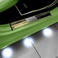 Подсветка днища автомобиля кругами
