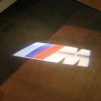 Штатные проекторы в двери BMW M 7W