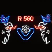Светящийся логотип картина SCANIA R560