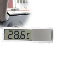 Прозрачный термометр на присоске для внутреннего применения