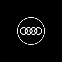 Подсветка дверей с логотипом Audi 5W mini