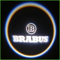 Беспроводная подсветка дверей Mercedes Brabus