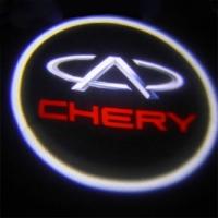 Внешняя подсветка дверей с логотипом Chery 7W