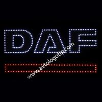 Светящийся логотип для грузовика DAF