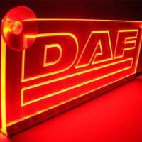 Светящаяся табличка DAF 2D