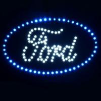 Светящийся логотип для грузовика FORD