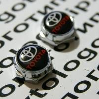 Декоративный болт для номерного знака с логотипом Toyota