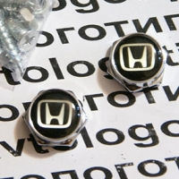 Декоративный болт для номерного знака с логотипом Honda