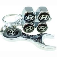 Колпачки на ниппель Hyundai с ключом