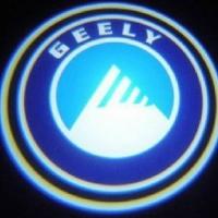 Беспроводная подсветка дверей с логотипом Geely