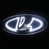 5D светящийся логотип LADA 12,5 см