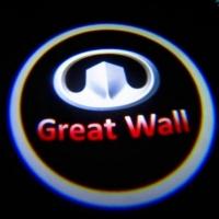 Беспроводная подсветка дверей с логотипом Great Wall