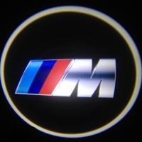 Беспроводная подсветка дверей с логотипом BMW M