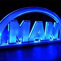 Светящаяся табличка 3D MAN