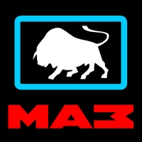 Светящийся логотип для грузовика MAZ (МАЗ)