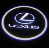 Беспроводная подсветка дверей с логотипом Lexus