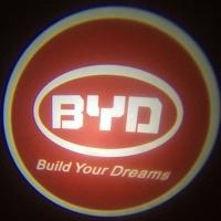 Внешняя подсветка дверей с логотипом BYD 7W