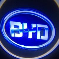 Беспроводная подсветка дверей с логотипом BYD 3D