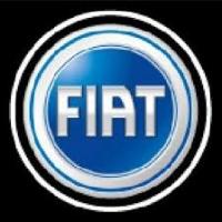 Внешняя подсветка дверей с логотипом Fiat 5W