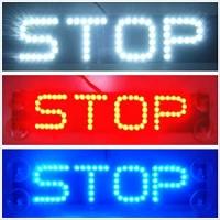 """Стоп сигнал надпись """"STOP"""""""