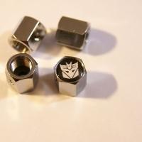 Колпачки на ниппель Decepticon с брелоком