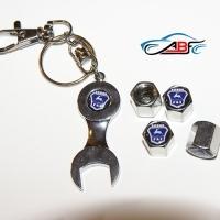 Колпачки на ниппель GAZ с ключом