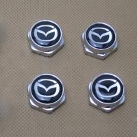 Декоративный болт для номерного знака с логотипом Mazda
