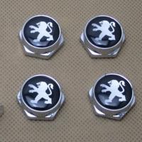 Декоративный болт для номерного знака с логотипом Peugeot